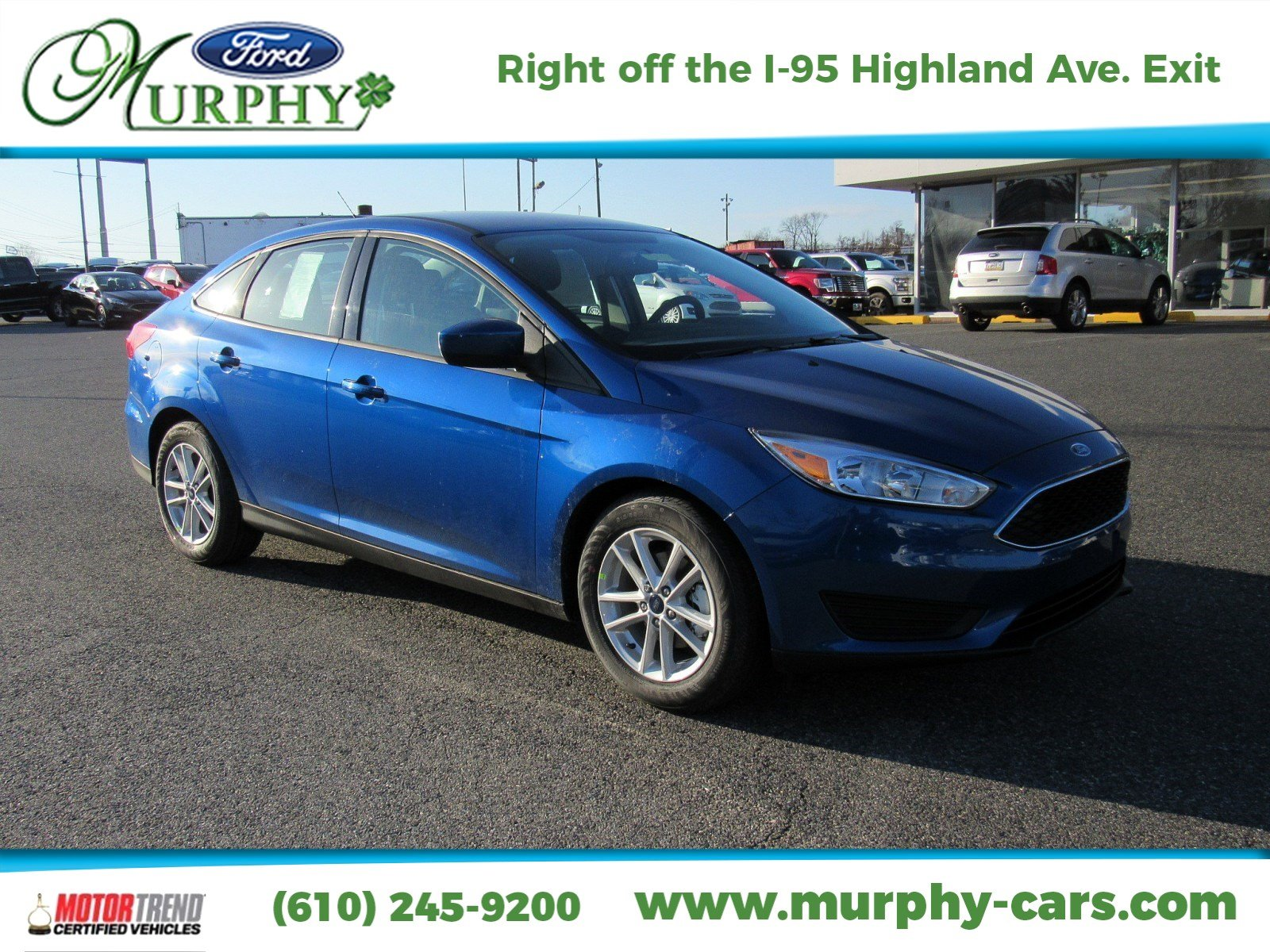New 2018 Ford Focus SE 4dr Car in Delaware County PA