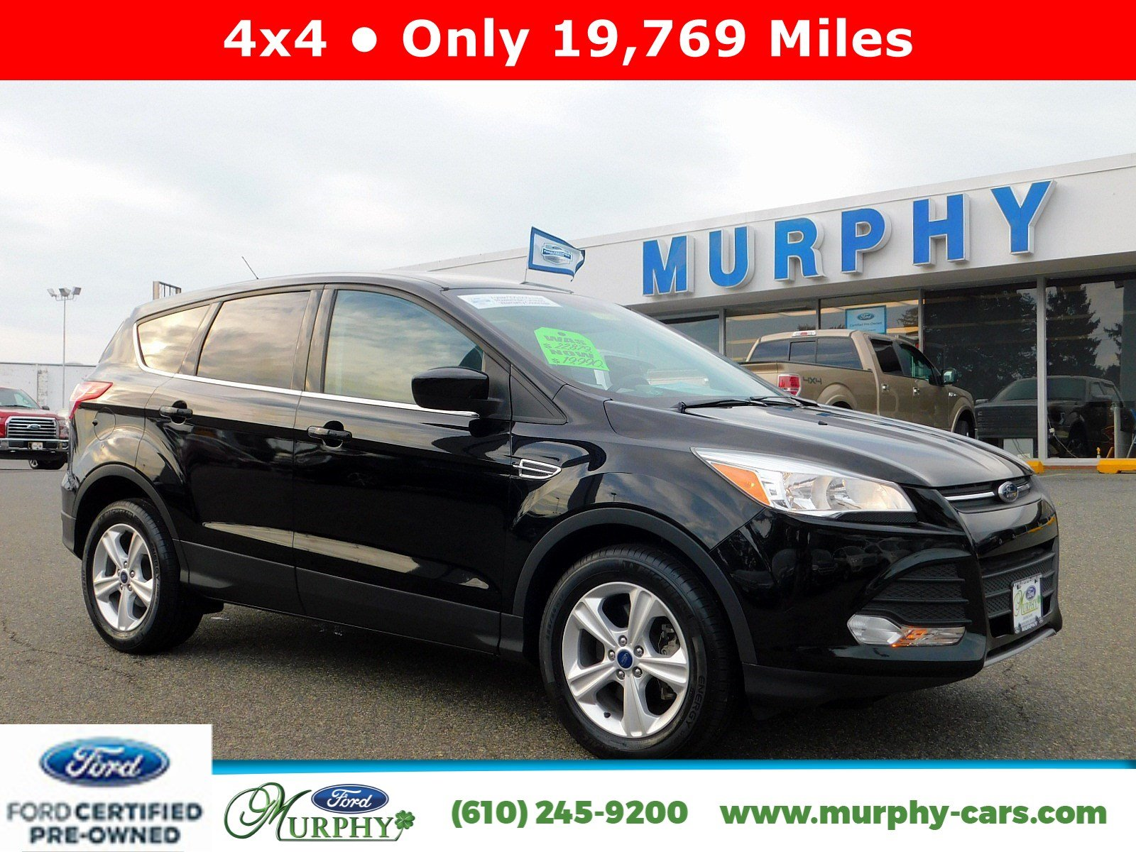 Certified pre owned 2016 ford escape se awd 19 769 miles