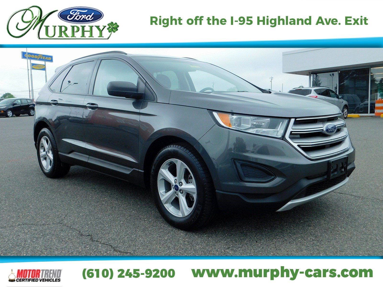 Certified Pre Owned  Ford Edge Se