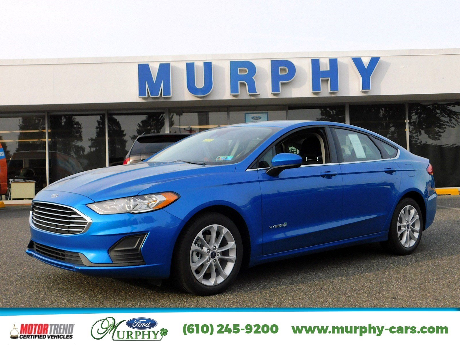 New 2019 Ford Fusion Hybrid SE 4dr Car in Delaware County PA